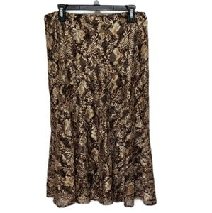 Andre Oliver A-Line Full Circle Skirt